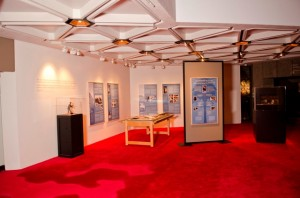 Some of the exhibit's displays